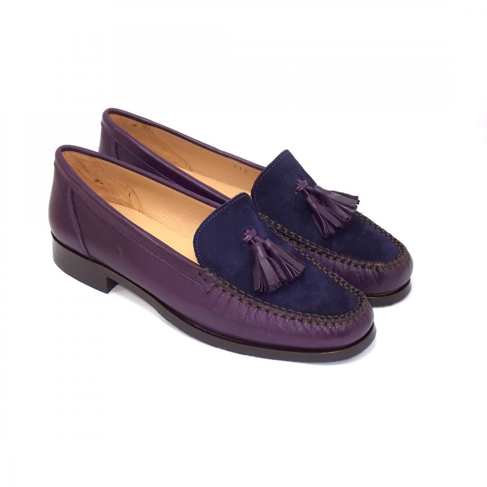 2c806f607dfe0 Beautiful Leather & Suede Moccasin | HB Shoes